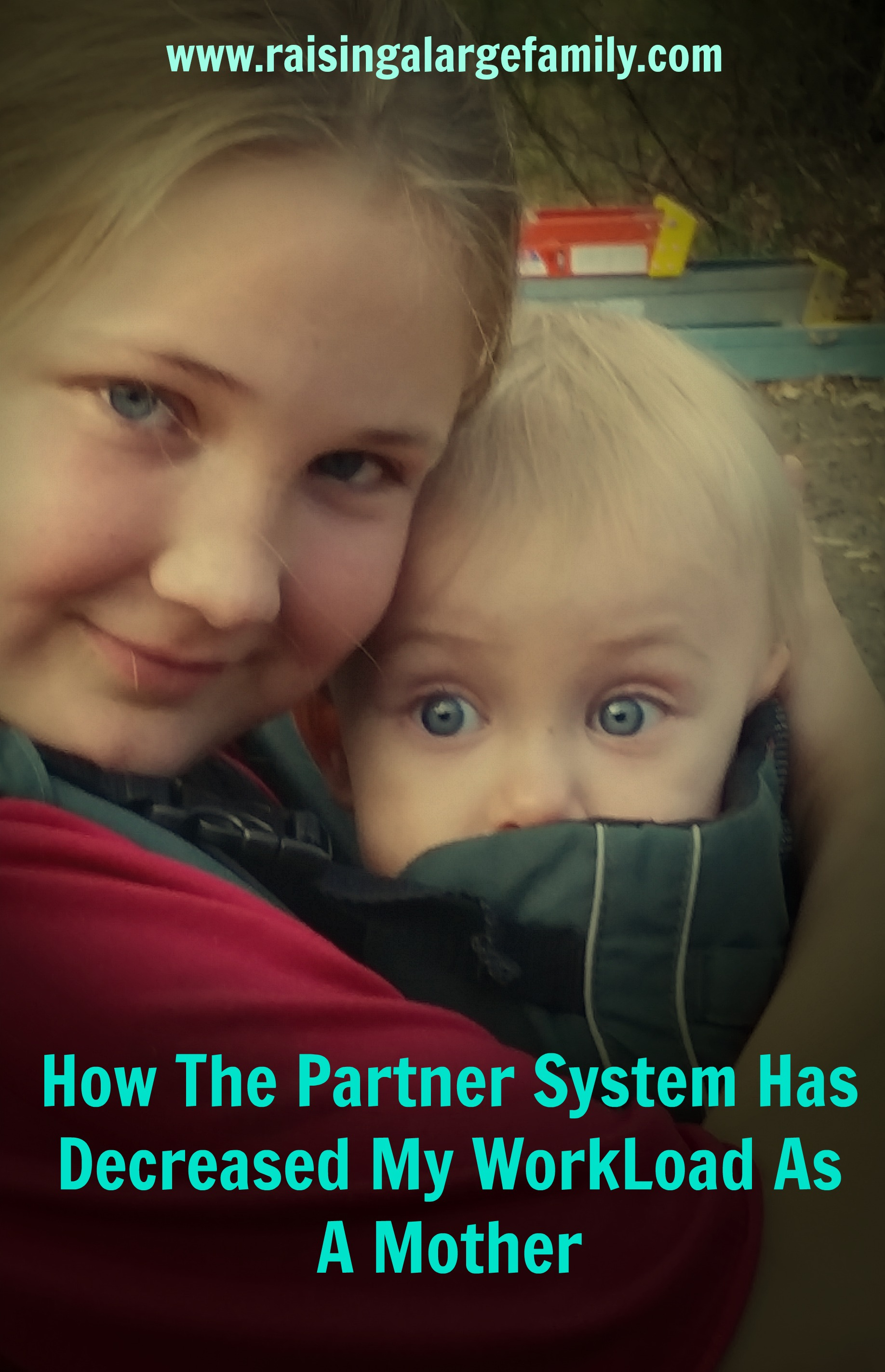 Reduce Your Chores and Bring Your Children Closer Together Through The Partner System