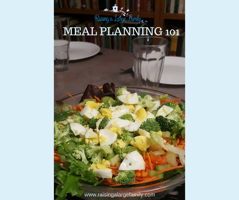 Easy and Fast Meal Planning 101