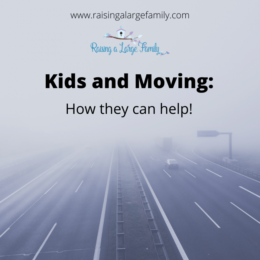 Kids and Moving: How They Can Help!