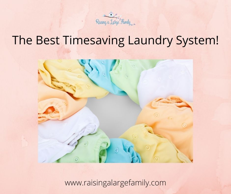 The Best Timesaving Laundry System!
