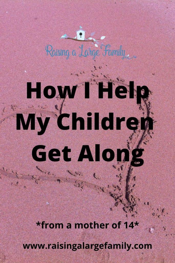help children get along